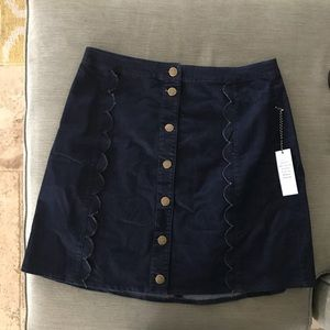 08dee9b02415e Eloquii Skirts - Draper James for ELOQUII Scallop A-Line Skirt